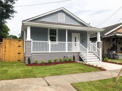 New Orleans Single Family Home For Sale: 1808 Nunez Street