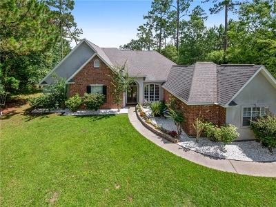 Madisonville LA Single Family Home For Sale: $375,000