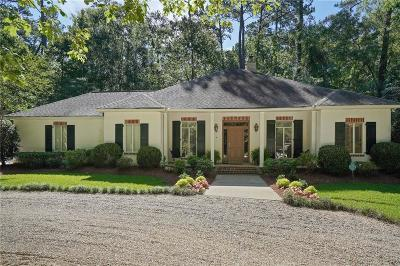 Mandeville Single Family Home For Sale: 4870 Sharp Road