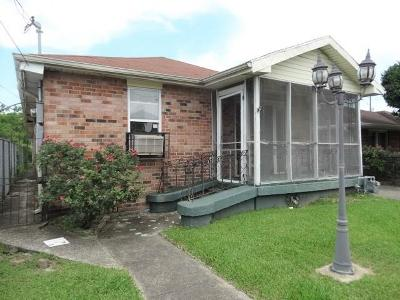 New Orleans Multi Family Home For Sale: 9321 Apricot Street