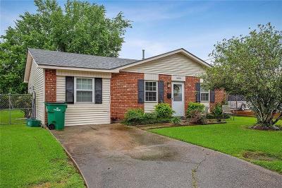 Marrero Single Family Home For Sale: 1604 Belle Court