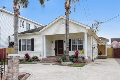 New Orleans Single Family Home For Sale: 2617 Milan Street