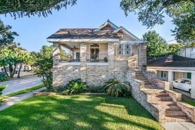 New Orleans Single Family Home For Sale: 2535 S Carrollton Avenue