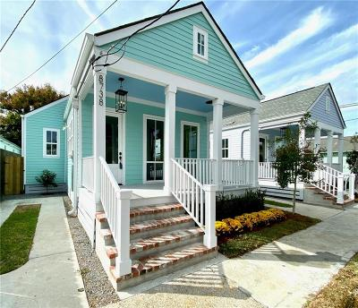 New Orleans Single Family Home For Sale: 8738 Jeannette Street