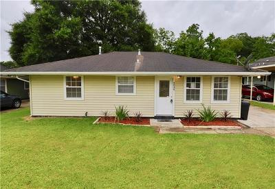 New Orleans Single Family Home For Sale: 4834 Piety Drive