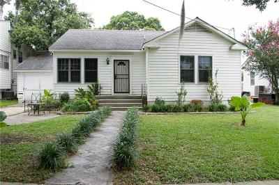 New Orleans Single Family Home For Sale: 4812 Miles Drive
