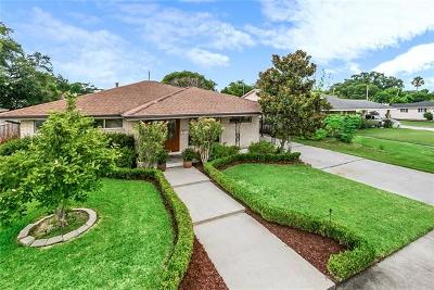 Metairie Single Family Home For Sale: 3516 James Drive