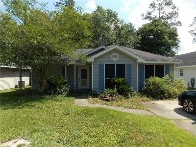 Slidell Single Family Home For Sale: 2504 Oriole Street