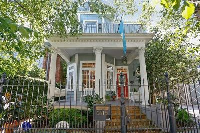 New Orleans Single Family Home For Sale: 1415 Soniat Street