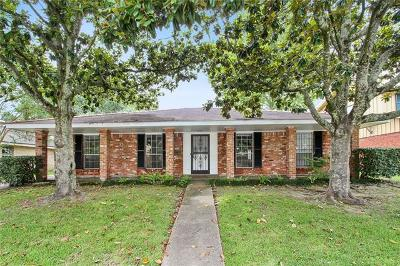 New Orleans Single Family Home For Sale: 2839 Chelsea Drive