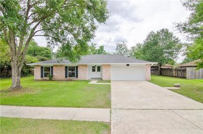 Slidell Single Family Home For Sale: 118 Kings Way
