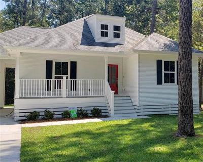 Covington Single Family Home For Sale: 72404 Magnolia Drive