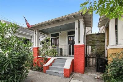 Single Family Home For Sale: 1532 Mandeville Street