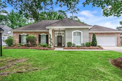 Mandeville Single Family Home For Sale: 2043 Timbercreek Lane