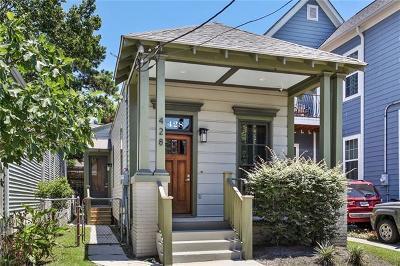 New Orleans Single Family Home For Sale: 428 S Scott Street