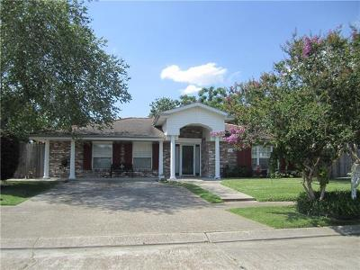 Marrero Single Family Home For Sale: 2824 Kirk Drive