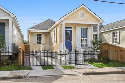 New Orleans Single Family Home For Sale: 1718 Leonidas Street