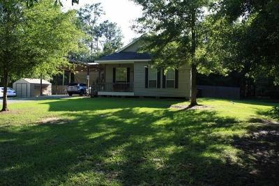 Mandeville Single Family Home For Sale: 70133 S Kelley Road