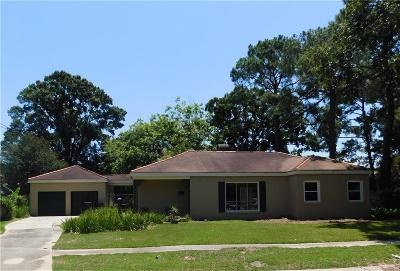New Orleans Single Family Home For Sale: 1118 Shirley Drive