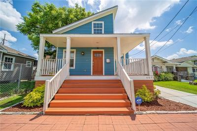 New Orleans Single Family Home For Sale: 4071 Clematis Street
