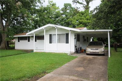 New Orleans Single Family Home For Sale: 4626 Lancelot Drive