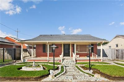 New Orleans Single Family Home For Sale: 32 Curtis Drive