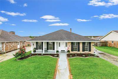 Kenner Single Family Home For Sale: 3233 Grandlake Boulevard