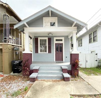 New Orleans Single Family Home For Sale: 3523 Franklin Avenue