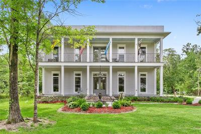 Single Family Home For Sale: 620 Delacroix Road