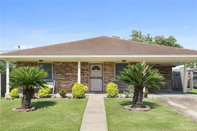 Kenner Single Family Home For Sale: 3128 Panama Street