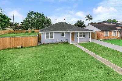 Arabi Single Family Home For Sale: 1706 Schnell Drive