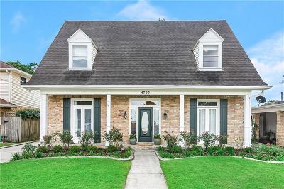 Single Family Home For Sale: 4736 Belle Drive