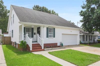 River Ridge, Harahan Single Family Home For Sale: 481 Gordon Avenue