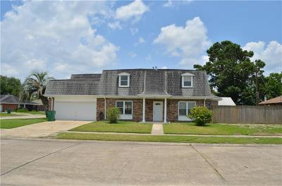 Gretna Single Family Home For Sale: 2121 Grape Place