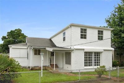 Kenner Single Family Home For Sale: 1210 Moisant Street