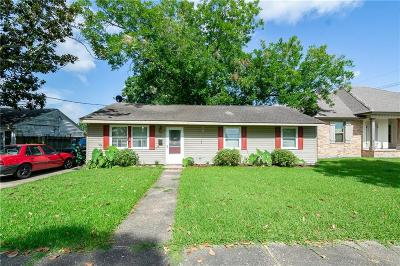 Kenner Single Family Home For Sale: 2112 Maryland Avenue