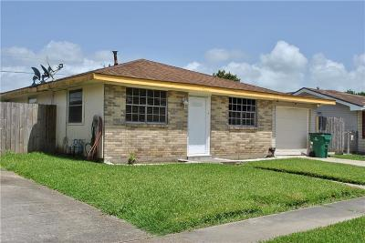 Marrero Single Family Home For Sale: 5117 Mount Shasta Drive