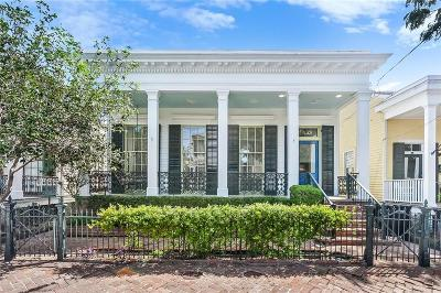 New Orleans Single Family Home For Sale: 1133 Eighth Street