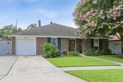 Marrero Single Family Home For Sale: 5505 Amite Drive