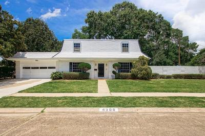 Single Family Home For Sale: 4300 Fiesta Drive