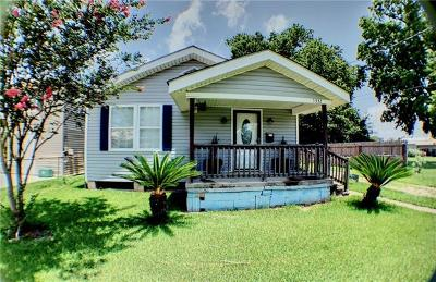Marrero Single Family Home For Sale: 5332 Oak Drive