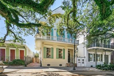 French Quarter Single Family Home For Sale: 622 Esplanade Avenue