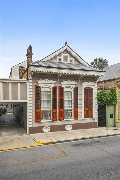 French Quarter Single Family Home For Sale: 915 Dauphine Street