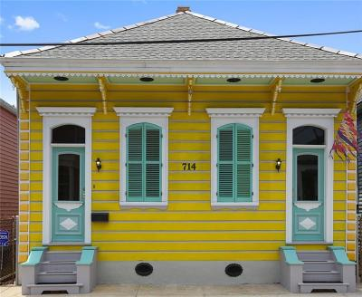 New Orleans Single Family Home For Sale: 714 Bartholomew Street