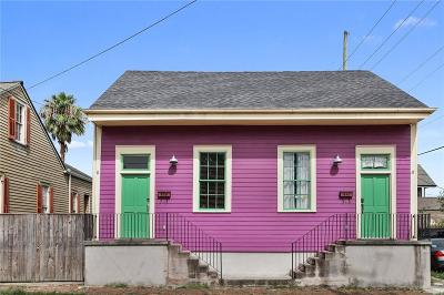 New Orleans Multi Family Home For Sale: 838 Congress Street