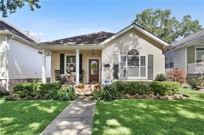 Single Family Home For Sale: 6010 Memphis Street
