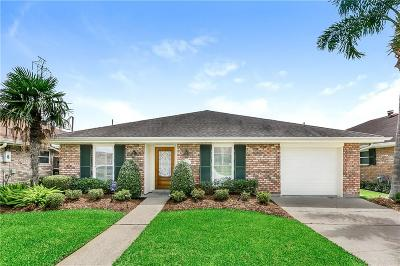 Kenner Single Family Home For Sale: 4917 David Drive