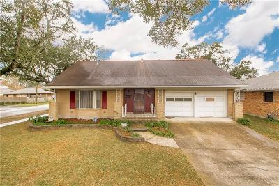 Metairie Single Family Home For Sale: 1800 Francis Avenue