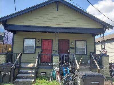 New Orleans Single Family Home For Sale: 2561 Peace Street