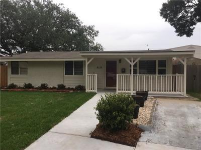 Single Family Home For Sale: 8110 Buras Avenue